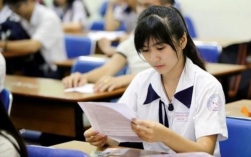 Thí sinh dự thi phải tốt nghiệp các ngành thuộc cùng nhóm ngành.