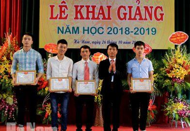 Thông tin tuyển sinh Trường Cao đẳng nghề Hà Nam năm 2019