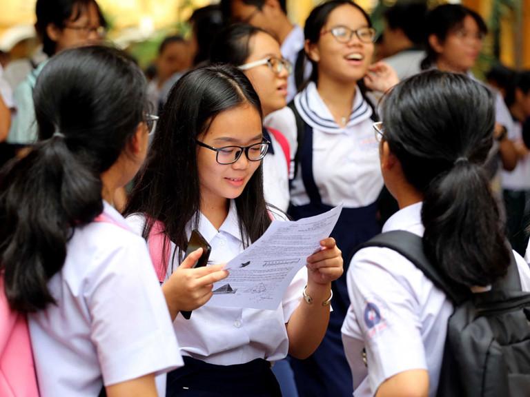 Tham khảo điểm chuẩn lớp 10 khu vực Hà Nội năm 2019